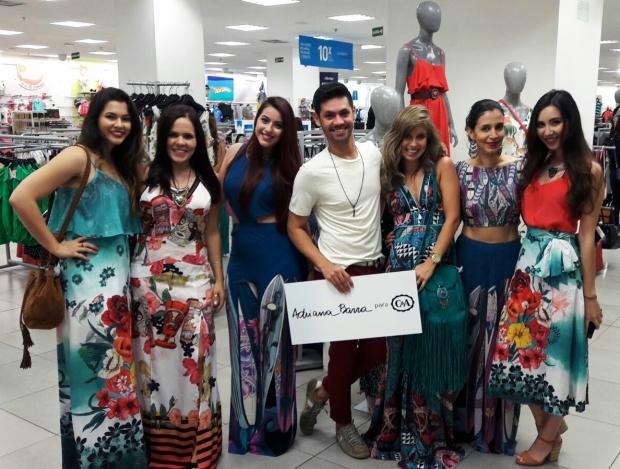 Mayra (Bazar do Desapego), Flavia Gamonar, Eu o/, Gustavo Barretto, Mirella Cabaz, Jô Nascimento (Princesas Modernas) e Nathalia Nakano (YouTuber).