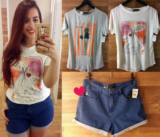 Camisetas R$49,90 | Short R$99,90