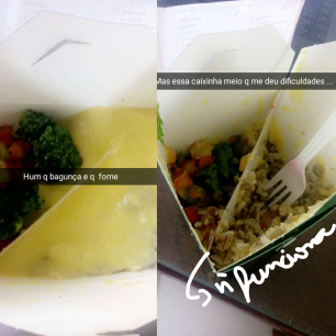 almoçona caixinha
